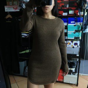 TOPSHOP RIBBED L/S TUNIC